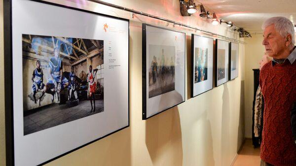 Открытие выставки победителей конкурса имени Андрея Стенина в Брюсселе