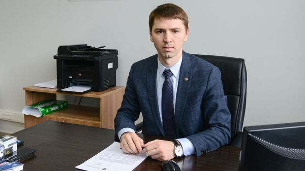 Заместитель генерального директора Дирекции спортивных и социальных проектов Эмиль Губайдуллин