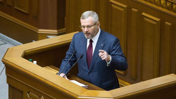 Депутат фракции Оппозиционный блок Александр Вилкул