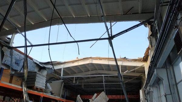 Обрушение кровли производственного здания в подмосковном Дзержинском