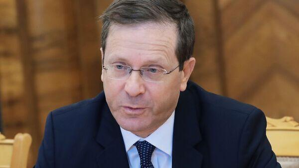Председатель Еврейского агентства Сохнут Ицхак Герцог