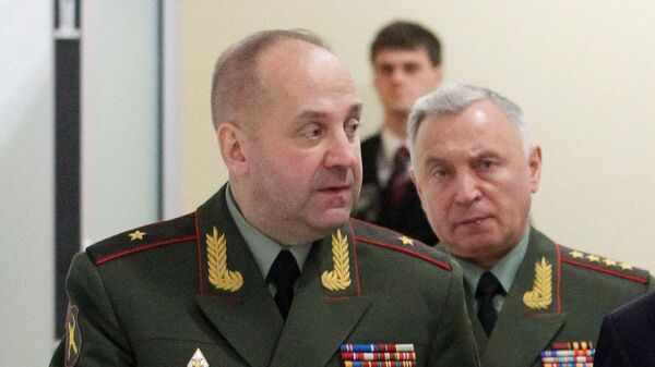 Начальник ГРУ генерал-майор Игорь Сергун