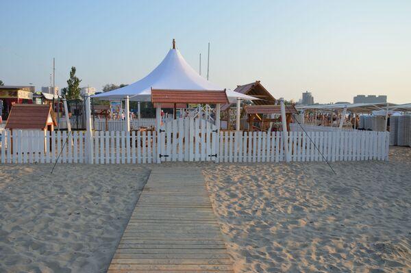Центральный пляж в Анапе