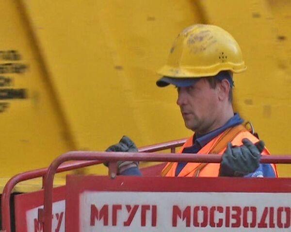 Палашевский потоп. В центре Москвы – авария на водопроводе