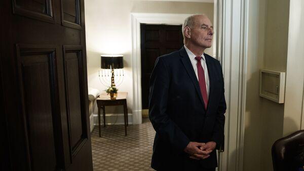 Бывший министр внутренней безопасности США Джон Келли