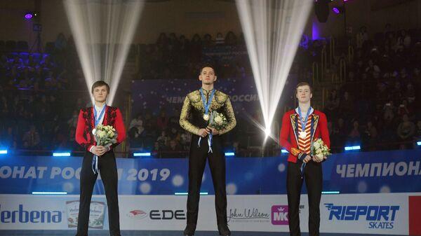 Михаил Коляда, Максим Ковтун и Александр Самарин (слева направо)