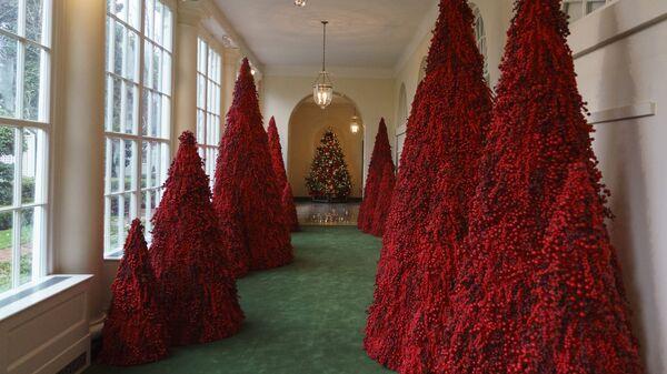Рождественские елки в Белом доме