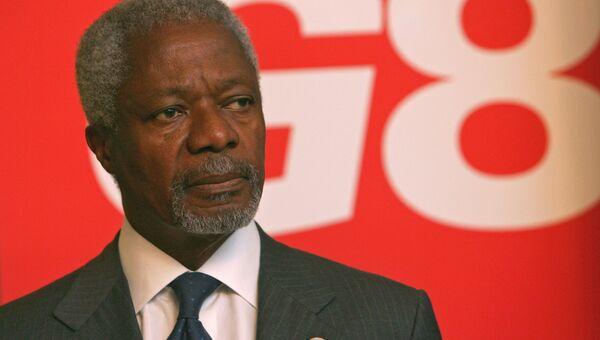 Кофи Аннан. Архивное фото