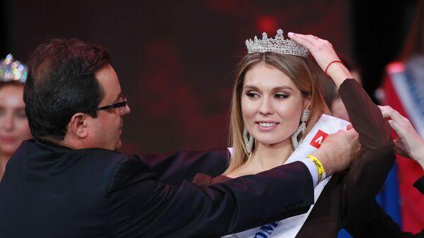 Участница конкурса красоты Мисс Москва 2018 Владлена Прешель