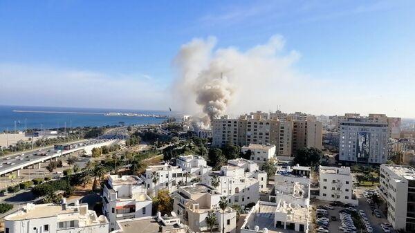 Теракта возле штаб-квартиры МИД Ливии в столице Триполи. 25 декабря 2018