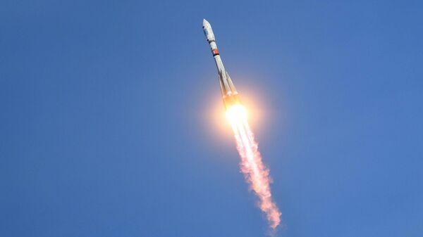 Пуск ракеты Союз-2 с космодрома Восточный