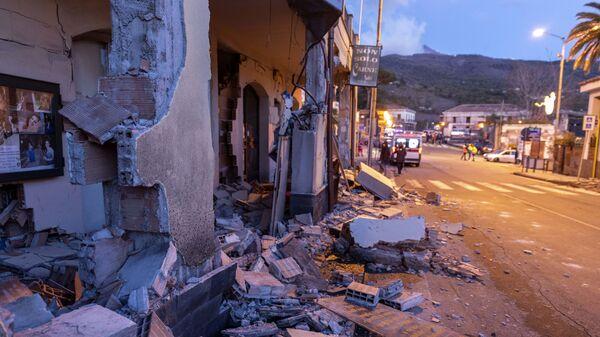 Последствия землетрясения в Италии. 26 декабря 2018