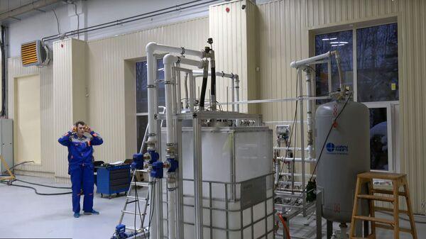 Испытания собственного ракетного двигателя в компании КосмоКурс.