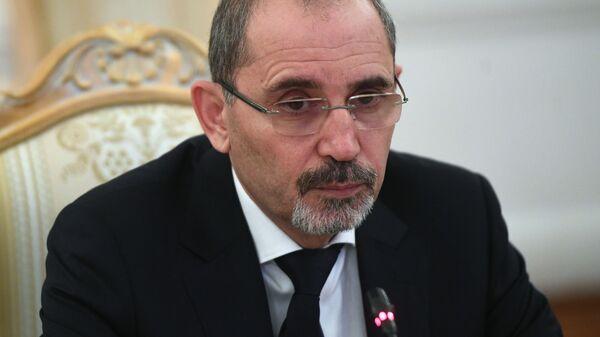 Министр иностранных дел и по делам эмигрантов Иорданского Хашимитского Королевства Айман Хусейн Абдалла ас-Сафади
