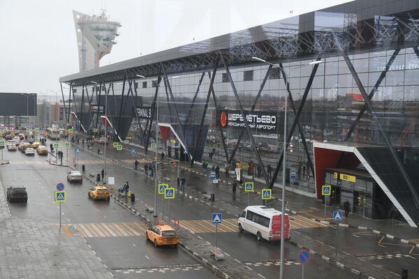 Терминал B аэропорта Шереметьево
