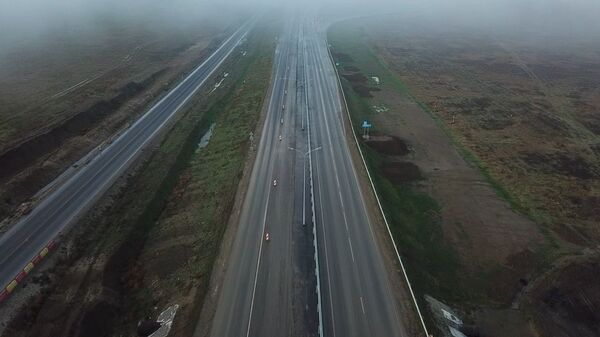 Автодвижение на втором участке трассы Таврида. Кадры из Крыма