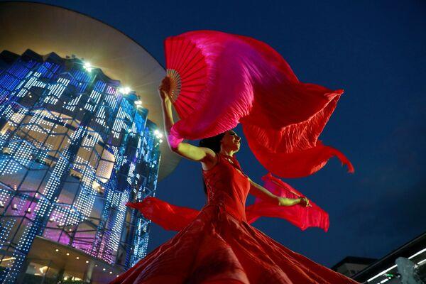 Новогоднее представление в Бангкоке, Таиланд