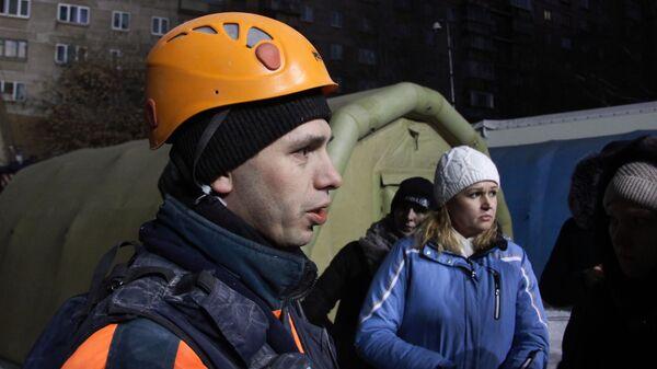Начальник управления центра по проведению спасательных операций особого риска Лидер подполковник Петр Гриценко, участвовавший в спасении ребенка из-под завалов жилого дома в Магнитогорске