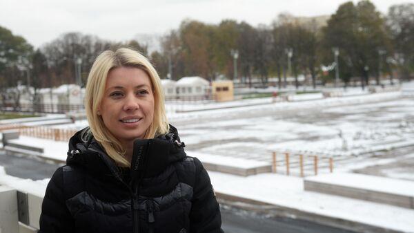 Директор Центрального парка культуры и отдыха имени Горького Марина Люльчук