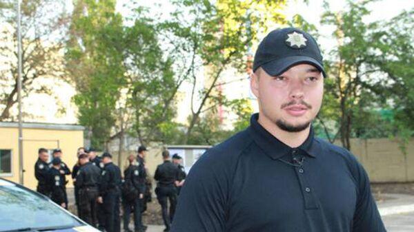 Глава патрульной полиции Киева Юрий Зозуля