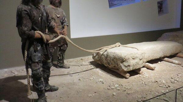 Экспонаты археологического музея города Шанлыурфа (Турция)