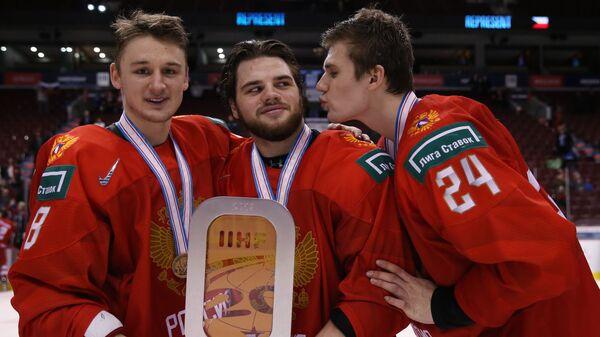 Никита Шашков, Савелий Ольшанский и Клим Костин (слева направо)