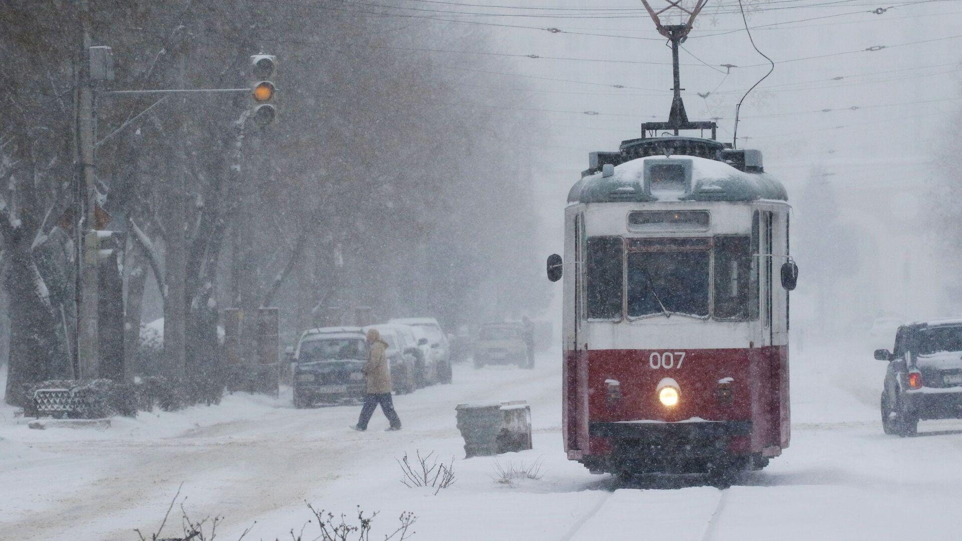 Снег в Крыму - РИА Новости, 1920, 09.01.2019