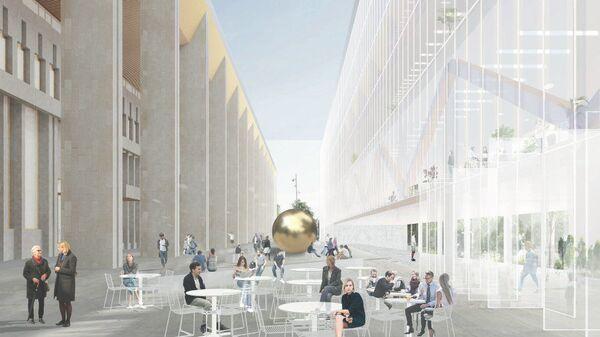 Проект реконструкции Московского дворца молодежи