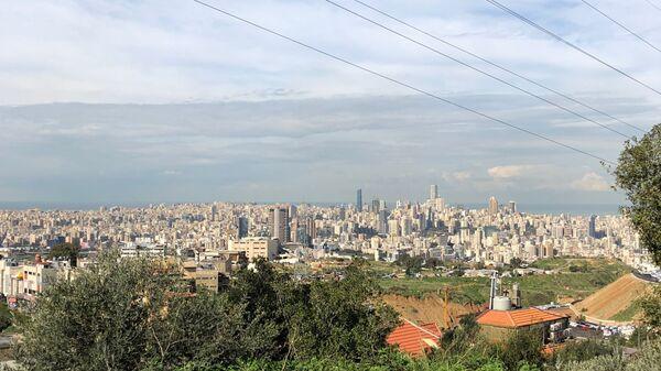 Вид на Бейрут