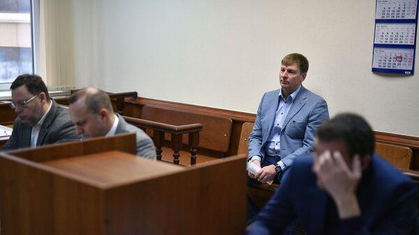 Глава Федерации бобслея России Александр Зубков в Московском городском суде. 11 января 2019
