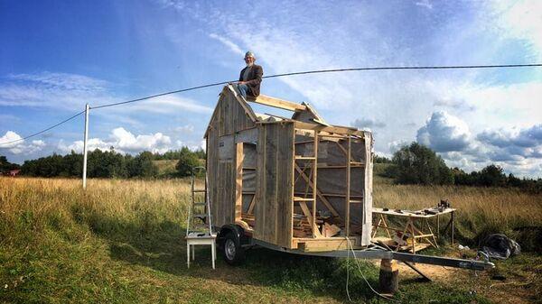 На строительство Tiny House Зурбаганский потратил примерно 800 тысяч рублей