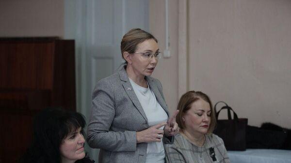 Врио замгубернатора Владимирской области Марина Чекунова