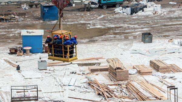 Строительство стадиона Открытие Арена