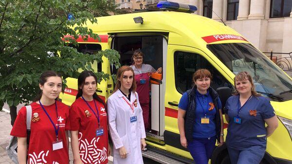 Волонтеры-медики вместе с бригадами скорой помощи будут выезжать на вызовы