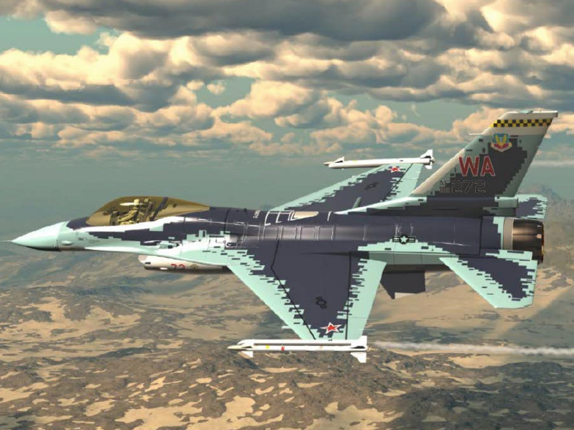 Обои force, military, F16. Авиация