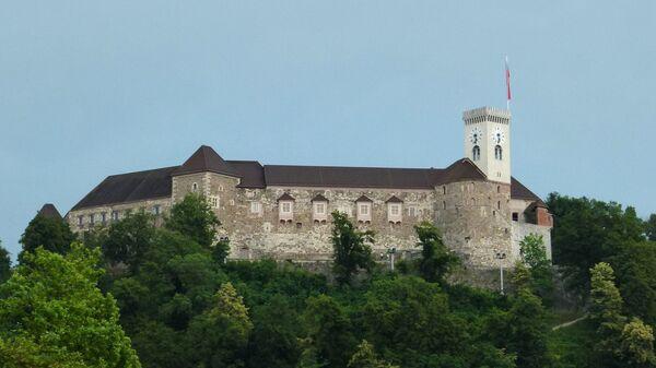 Люблянский замок в столице Словении Лябляне