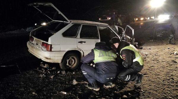 ДТП  на 33 километре автодороги Тула-Новомосковск, в котором погиб сотрудник полиции. 18 января 2019