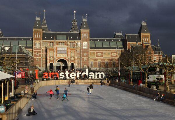 Каток в Амстердаме