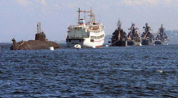 Корабли военно-морского флота России