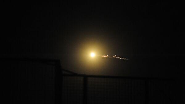 Cирийские средства противовоздушной обороны отражают удар израильской армии