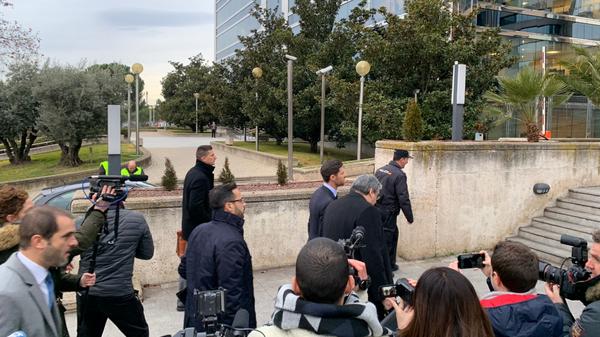 Хаби Алонсо прибыл на заседание суда Мадрида