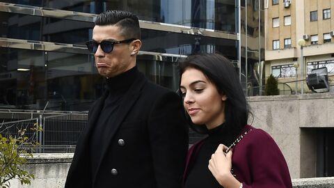Криштиану Роналду после заседания суда в Мадриде