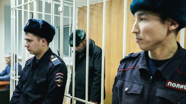 Павел Шаповалов на заседании Ханты-Мансийского районного суда