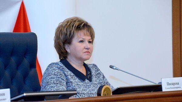 Спикер Новгородской областной думы Елена Писарева
