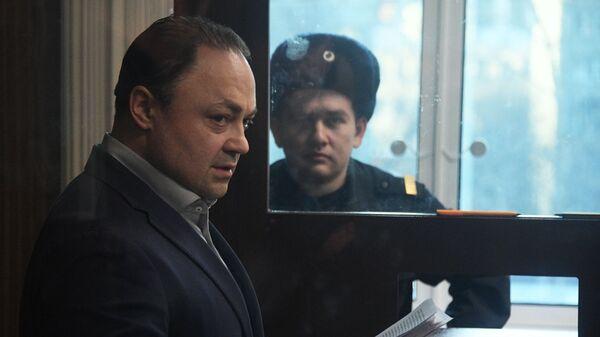 Бывший мэр Владивостока Игорь Пушкарев, обвиняемый во взяточничестве