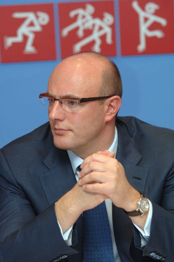 Президент Оргкомитета «Сочи-2014» Дмитрий Чернышенко