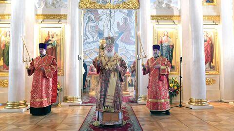 Божественная литургия в день памяти мученицы Татианы