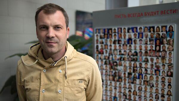 Ведущий программы 60 минут Евгений Попов