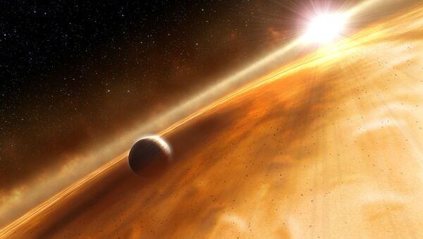 Фомальгаут и его планета