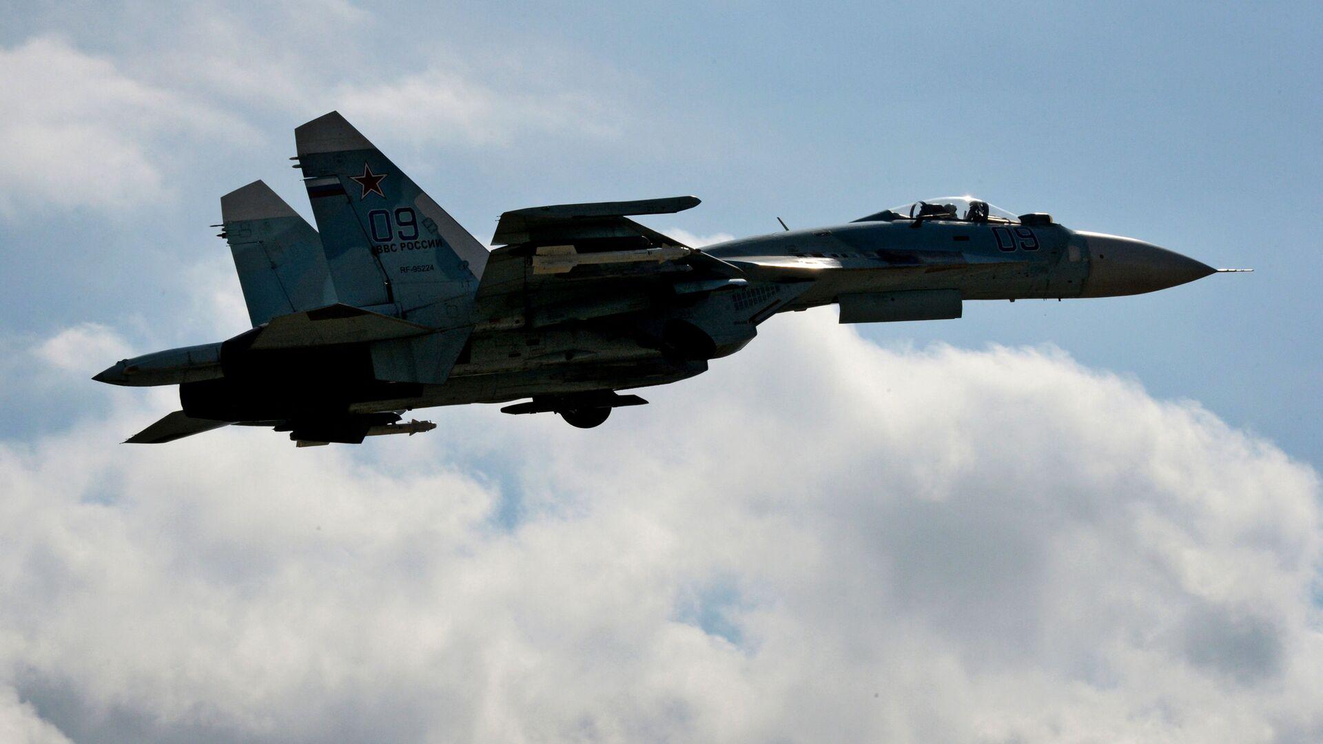 Истребитель Су-27СМ - РИА Новости, 1920, 17.02.2021
